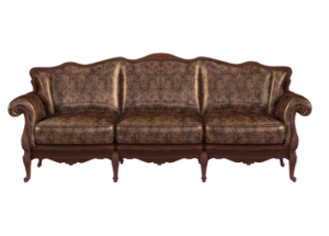Indus Designer Wood Queen Sofa